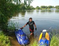 Отдых на Рыбинском водохранилище для яхтсменов